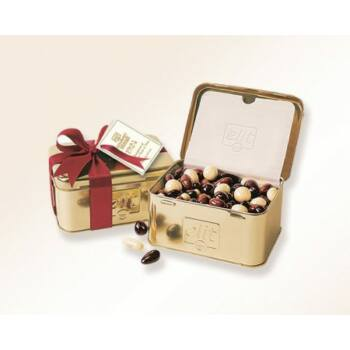 Elit Gourmet Dragee Chocolate Fruits & Nuts arany 250g